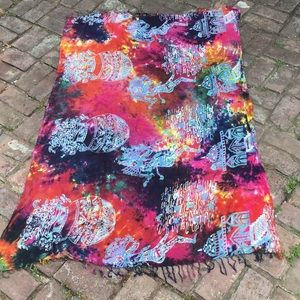 Stunning vintage rayon sarong